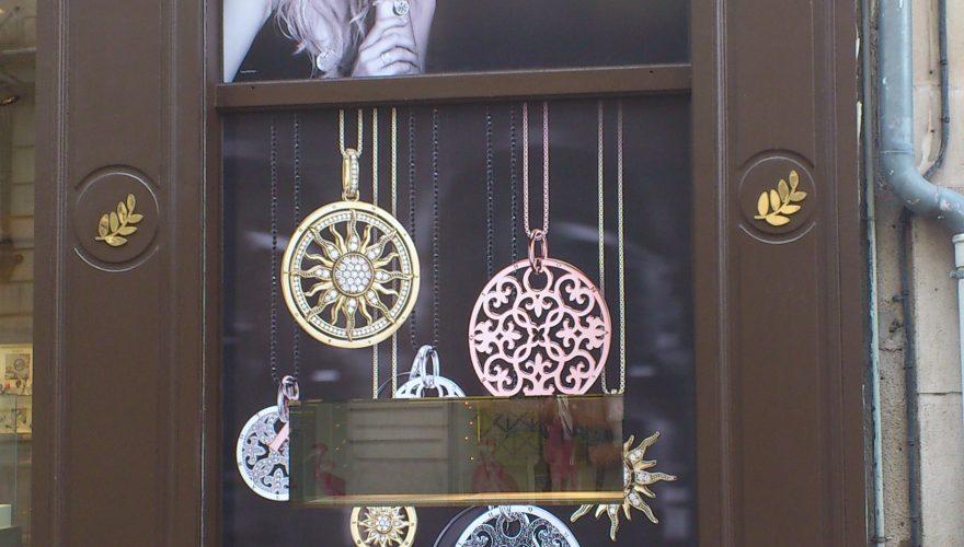 Publicité adhésive vitrine