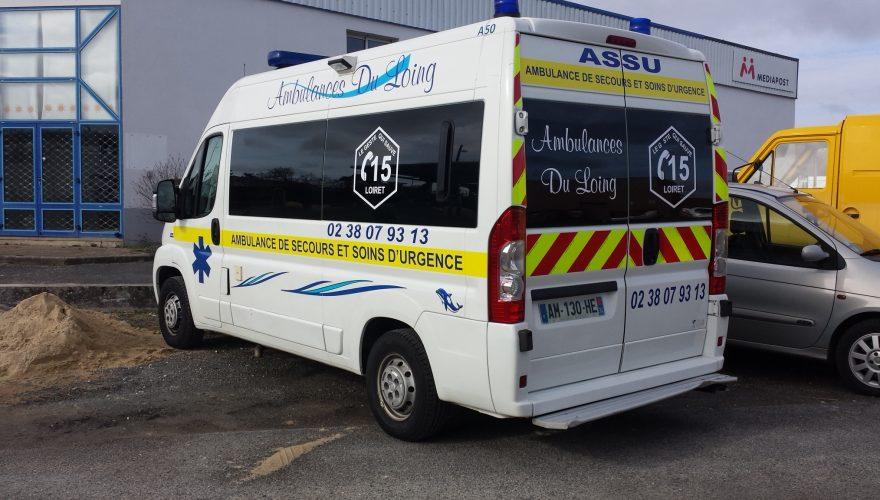 Marquage sécurité ambulance