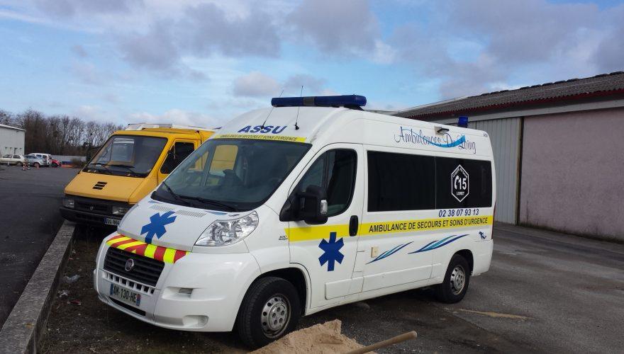 Marquage sécurité ambulances